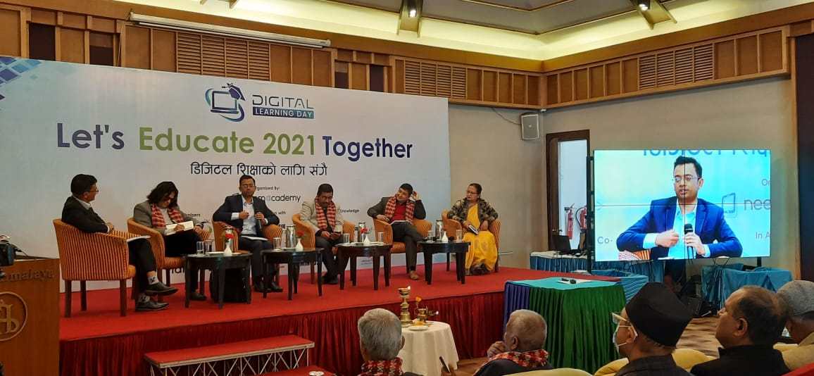आज 'डिजिटल लर्निङ डे' विश्वभर मनाइयोः काठमाडौंमा 'डिजिटल शिक्षाका लागि सँगै' कार्यक्रम सम्पन्न