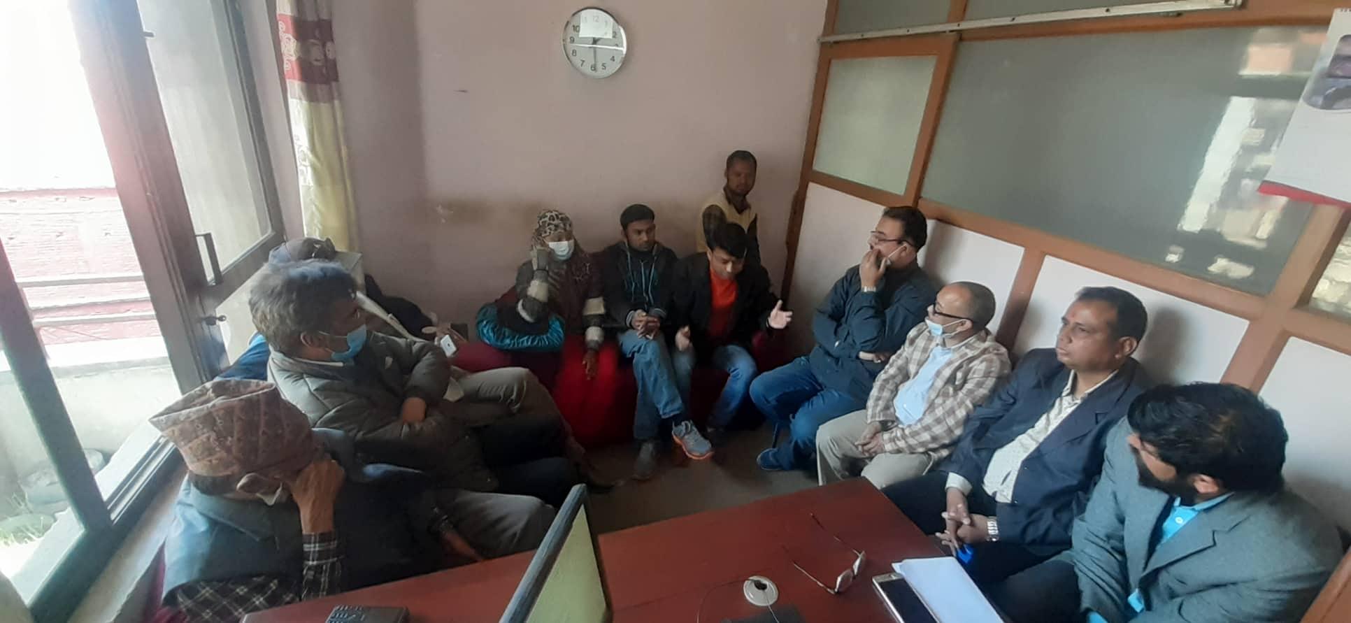 प्रेस सेन्टर नेपालसहितका विभिन्न १३ संगठनहरुद्धारा पत्रकार महासंघको निर्वाचनमा सहकार्य गर्ने घोषणा